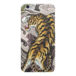 "Чехол для iPhone 6 ""тигр."" - тигр, зверь, японский арт"