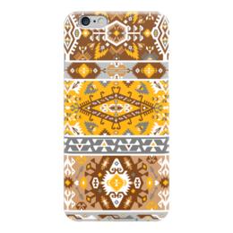 "Чехол для iPhone 6 ""Seamless bright pattern in tribal style"" - tribal, ethnic, native, aztec, navajo"