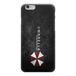 "Чехол для iPhone 6 глянцевый ""Corporation Umbrella"" - амбрелла, umbrella corporation, resident evil"
