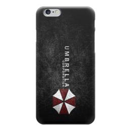 "Чехол для iPhone 6 ""Corporation Umbrella"" - resident evil, umbrella corporation, амбрелла"