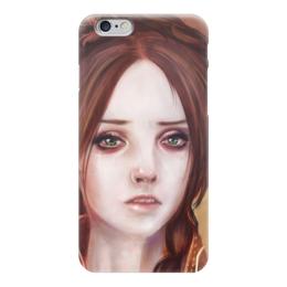 """Чехол для iPhone 6 """"Санса старк (Игра Престолов)"""" - игра престолов, старки, game of thrones, зима близко, санса старк"""