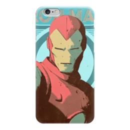 "Чехол для iPhone 6 ""Железный человек"" - комиксы, железный человек, iron man, тони старк, жч"