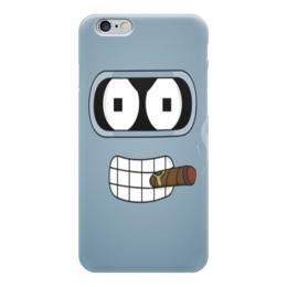 "Чехол для iPhone 6 ""ФутуРама"" - футурама, futurama, bender, мульт, бэндер"