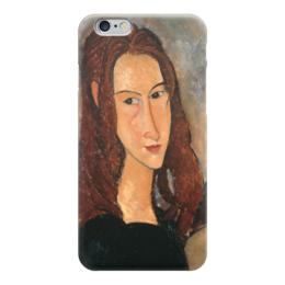 "Чехол для iPhone 6 ""Жанна Эбютерн"" - картина, модильяни"