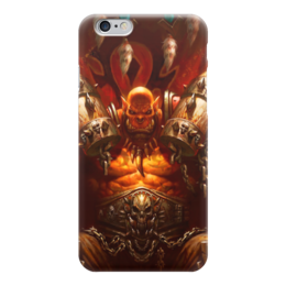 "Чехол для iPhone 6 ""WarCraft Collection: ork"" - wow, warcraft, орк, world of warcraft, варкрафт"