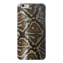 "Чехол для iPhone 6 ""кожа питона"" - кожа, питон, кожа питона, snake skin"