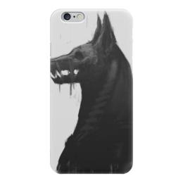 """Чехол для iPhone 6 """"Анубис"""" - собака, god, египет, анубис, бог"""