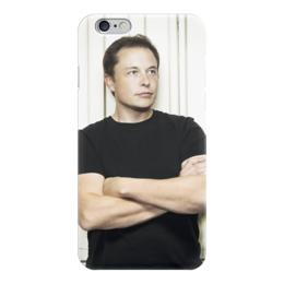 "Чехол для iPhone 6 глянцевый ""Илон Маск"" - космос, вселенная, thespaceway, spacex, маск"