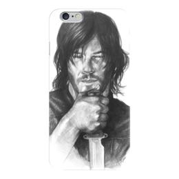 """Чехол для iPhone 6 глянцевый """"The Walking Dead Daryl Dixon Norman Reedus"""" - thewalkingdead, daryldixon, normanreedus"""