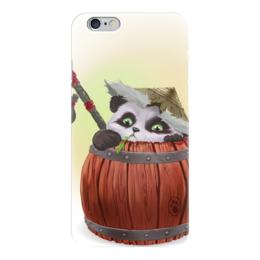 "Чехол для iPhone 6 ""Pandaren"" - wow, blizzard, world of warcraft, варкрафт, пандарен"