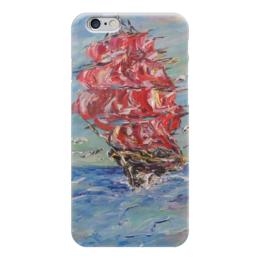 "Чехол для iPhone 6 ""Надежда"" - любовь, море, красота, места, алые паруса"