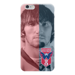 "Чехол для iPhone 6 ""Александр Овечкин (Washington Capitals)"" - nhl, овечкин, washington capitals"