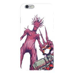 """Чехол для iPhone 6 """"Ракета и Грут"""" - комиксы, марвел, ракета, стражи галактики, грут"""