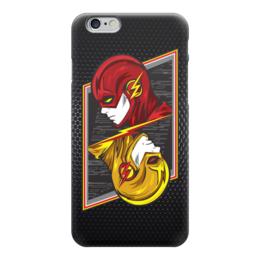 "Чехол для iPhone 6 ""Flash (Молния)"" - flash, молния, флеш, флэш"