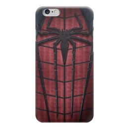 """Чехол для iPhone 6 """"Человек-паук (Spider-man)"""" - spider man, spider-man, марвел, человек-паук"""