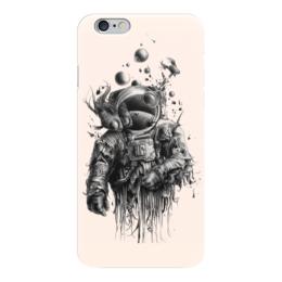 """Чехол для iPhone 6 """"Неординарный арт"""" - море, рисунок, рыба, водолаз, арт дизайн"""