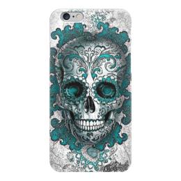 """Чехол для iPhone 6 """"Skull Art"""" - skull, череп, рисунок, абстракция, арт дизайн"""