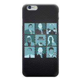 "Чехол для iPhone 6 глянцевый ""Во все тяжкие (Breaking Bad)"" - поп арт, pop art"