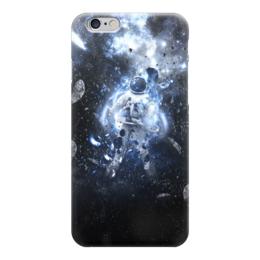 """Чехол для iPhone 6 """"Астрнавт/космос"""" - арт, космос, астронавт"""