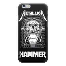 "Чехол для iPhone 6 глянцевый ""Metallica"" - heavy metal, хэви метал, металлика, metallica, thrash metal"
