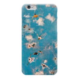"Чехол для iPhone 6 ""Main Pool"" - лето, люди, вода, брызги, бассейн"