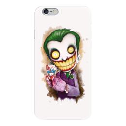 "Чехол для iPhone 6 глянцевый ""Джокер (Joker)"" - batman, the dark knight, джокер, joker"
