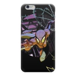 "Чехол для iPhone 6 ""Человек-паук (Spider-man)"" - комиксы, spider man, марвел, человек-паук, питер паркер"