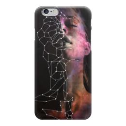 """Чехол для iPhone 6 """"Галактика"""" - девушка, звезды, космос, вселенная, witchouse"""