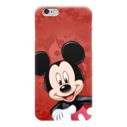 """Чехол для iPhone 6 """"Микки Маус мультяшный герой"""" - микки маус, мультяшка, mikki maus, мышонок микки, мультипликационный герой"""