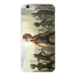 """Чехол для iPhone 6 глянцевый """"Ходячие Мертвецы (The Walking Dead)"""" - zombie, зомби, ходячие мертвецы, the walking dead"""