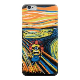 "Чехол для iPhone 6 ""Крик Миньона (Эдвард Мунк)"" - крик, миньон"