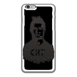 "Чехол для iPhone 6 ""Ronaldo 7"" - футбол, реал мадрид, чемпион, криштиану роналду"