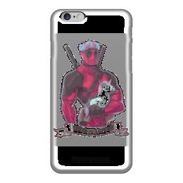 """Чехол для iPhone 6 глянцевый """"Good Deadpool"""" - iphone, marvel, iphone6, deadlool"""
