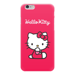 "Чехол для iPhone 6 ""Hello Kitty"" - hello kitty, мульт, хеллоу китти"