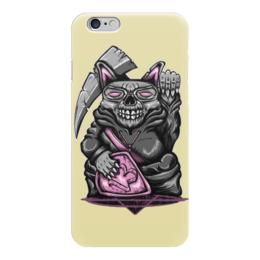 """Чехол для iPhone 6 """"Rat Skull"""" - skull, череп, death, крыса, rat"""