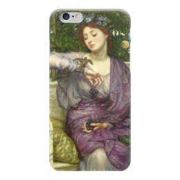 "Чехол для iPhone 6 ""Лесбия и её воробушек"" - картина, пойнтер"