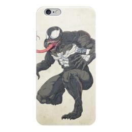 "Чехол для iPhone 6 ""Веном (Venom)"" - комиксы, venom, марвел, человек-паук, веном"