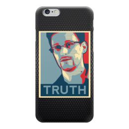 "Чехол для iPhone 6 ""Правда (Эдвард Сноуден)"" - правда, truth, эдвард сноуден"