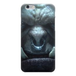 "Чехол для iPhone 6 ""Громмаш Адский Крик (Варкрафт)"" - wow, world of warcraft, варкрафт, grommash hellscream"