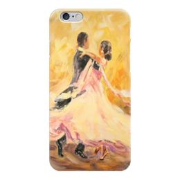 """Чехол для iPhone 6 глянцевый """"Танец"""" - любовь, love, живопись, вальс, пары"""