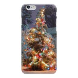 """Чехол для iPhone 6 """"Новый год"""" - новый год, айфон, елка, 2016"""