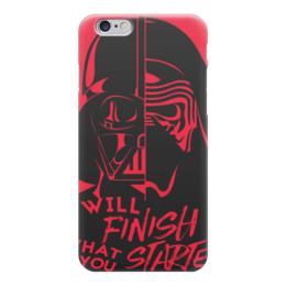 """Чехол для iPhone 6 """"Darth Vader & Kylo Ren"""" - star wars, звездные войны, дарт вейдер, кайло рен, бен соло"""