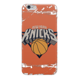 "Чехол для iPhone 6 ""New York Knicks"" - баскетбол, nba, нба, new york knicks, нью-йорк никс"