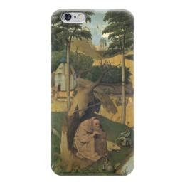 """Чехол для iPhone 6 """"Искушение святого Антония (картина Босха)"""" - картина, босх"""