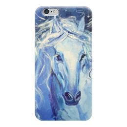"Чехол для iPhone 6 ""Лошадь счастья"" - любовь, love, лошадь, horse"