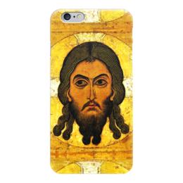 """Чехол для iPhone 6 """"Спаси и Сохрани..."""" - религия, дух, иисус, христос, икона"""