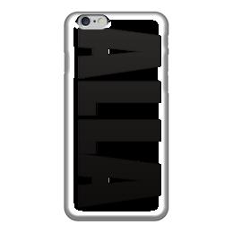 """Чехол для iPhone 6 """"с именем Алла"""" - чехол с именем, чехол с именем алла, алла"""