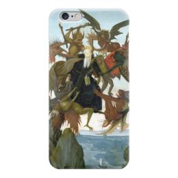 """Чехол для iPhone 6 """"Мучения святого Антония"""" - картина, микеланджело"""