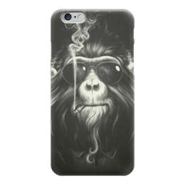 """Чехол для iPhone 6 """"Smoke Em If You Got Em"""" - животные, обезьяна, monkey, smoking"""