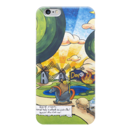 "Чехол для iPhone 6 ""Lollypups #29 (Don K HOT) "" - арт, баран, мельница, лолипупсы, донкихот"